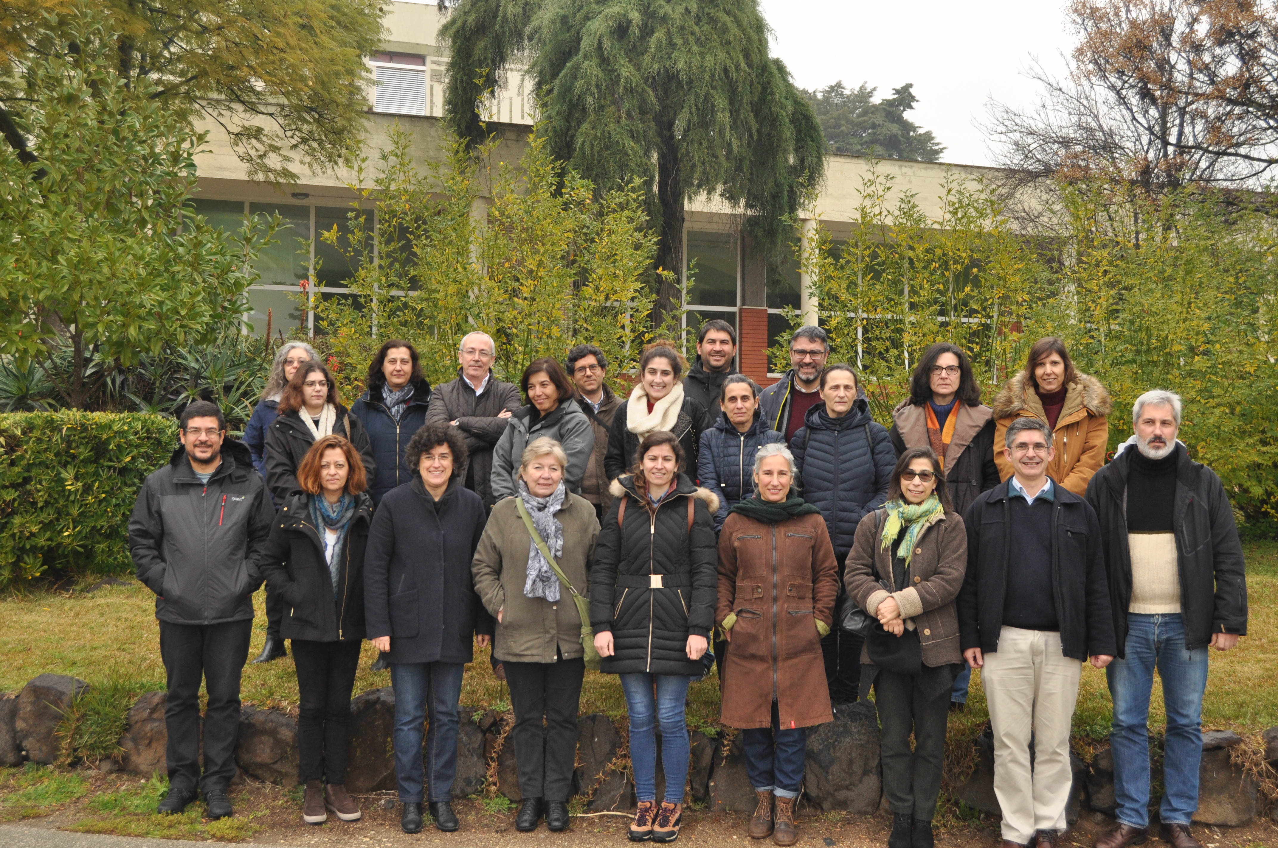 Participantes no curso